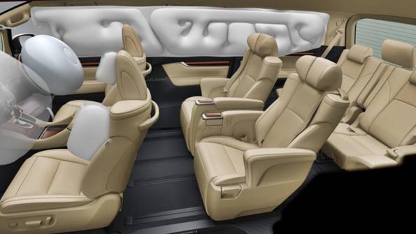 2019 Toyota Alphard Interior