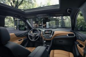 2019 Chevrolet Captiva interior