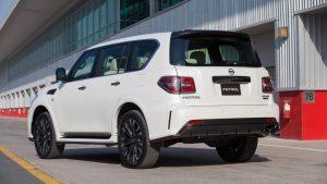 2021 Nissan Patrol Exterior