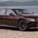 2020 Lexus LS 500 Spy Photos