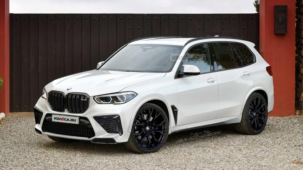 2021 BMW X5 M Redesign