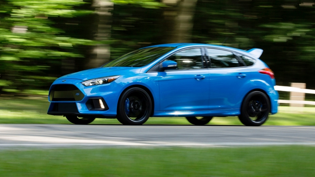 2021 Ford Focus RS Spy Photos