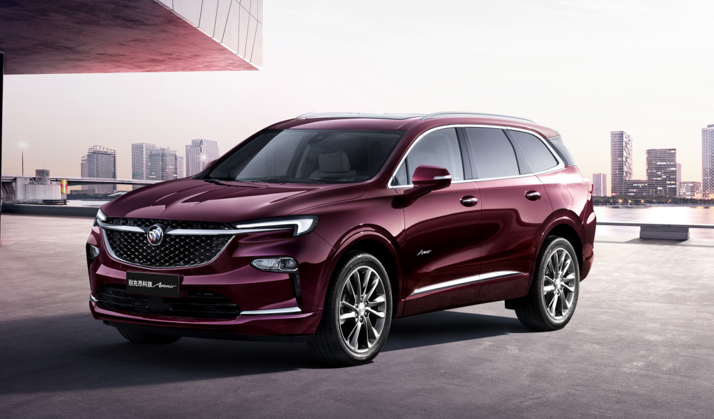2021 buick enclave spy photos  us cars news