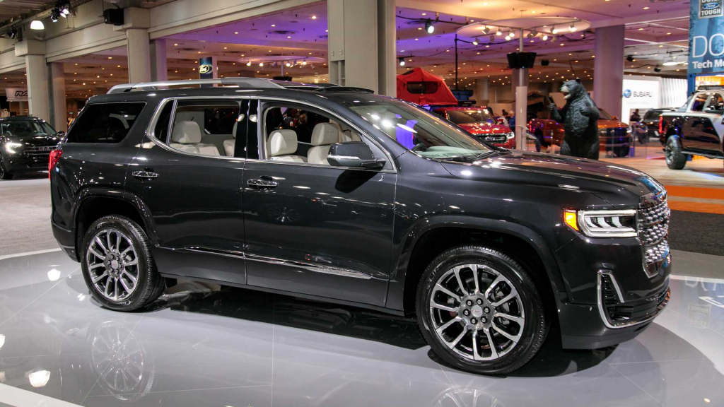 2021 gmc acadia images  us cars news