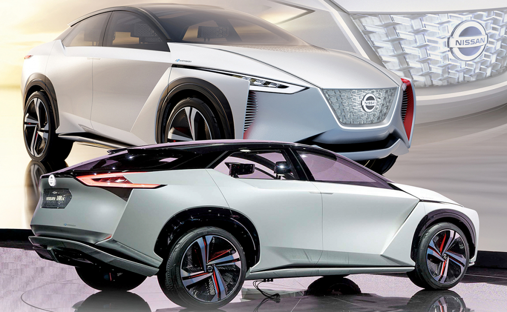 2021 Nissan IMx Pictures