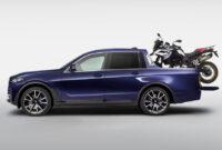 2021 BMW Pickup Truck Spy Photos