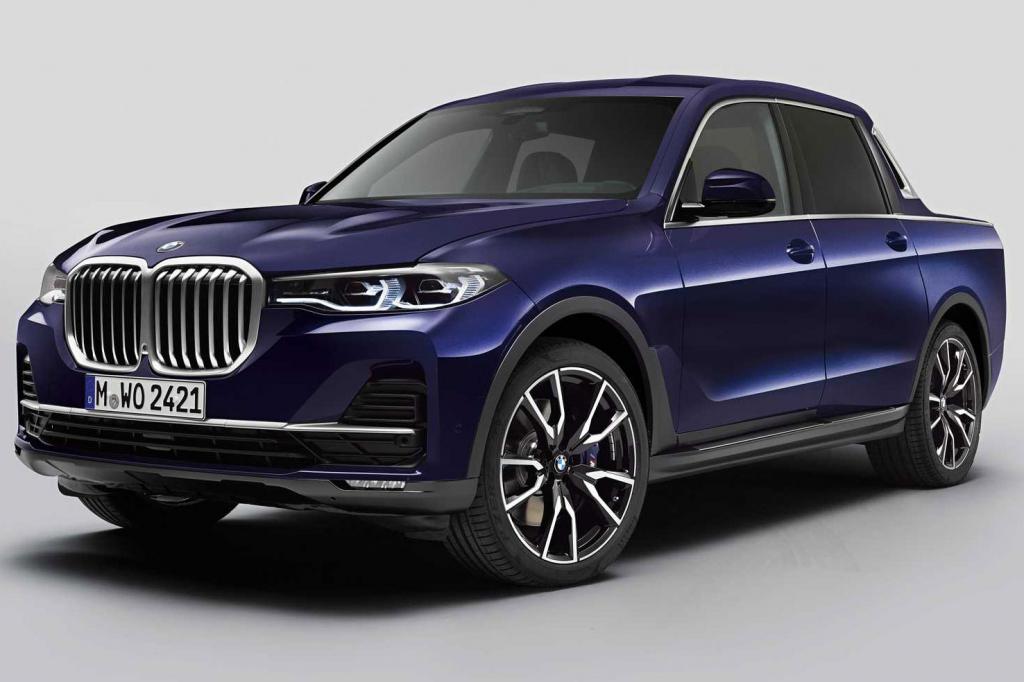 2021 BMW Pickup Truck Wallpaper